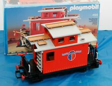 Vintage PLAYMOBIL Railroad Passenger Caboose  #4123 LGB  Germany...WOW!!!