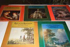 Lot of 5 CLASSICAL LPs on Mace BORIS BROTT, Gyula Nemeth, WILHELM JERGER