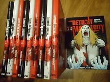 // NEUF LOT SERIE DETROIT METAL CITY 10 Tomes DMC MANGA EO VF INTEGRALE COMPLET