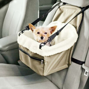 Waterproof Puppy Pet Cats Dog Car Travel Booster Seat Carrier Protector Cover