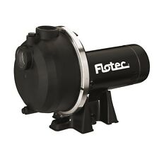 Flotec Black Thermoplastic 2-HP Dual Voltage Lawn Sprinkler Pump Water Well Pump