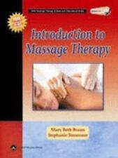 Introduction to Massage Therapy  with CD Rom +Raindrop Technique book