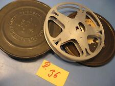 16 mm 2 Antike Filmspulen-Reichsstelle Dose 1930.Jahre.D.36-Antique film reel