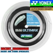YONEX BG66 ULTIMAX 200M COIL BADMINTON STRING BLACK COLOUR