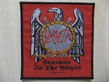 Aufnäher - Patch - Slayer - Seasons In The Abyss - Metallica - Megadeth