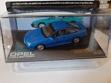 Opel Calibra V6, blaumet., 1/43- Opel Collection -in Kunststoffvitrine - BOX-