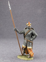 Painted Toy Soldier Norman Knight 1/32 Tin Figures 54mm Metal Miniature