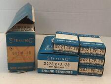 1953-56 V8 NOS ENGINE MAIN BEARING Set Sterling 961 M-20