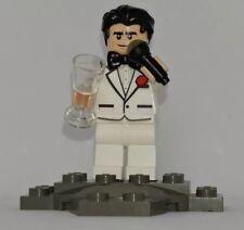New Bruce Wayne minifig LEGO BATMAN Movie from LEGO 70909 batcave