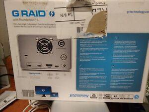 G-Technology G-RAID with Thunderbolt 3 8TB Desktop Hard Drive