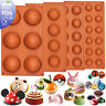Dome Silicone Baking Mould for Chocolate Muffin Pan Jelly Cupcake Cake Resin