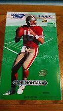1997 Joe Montana Starting Lineup Fully Poseable Figure New In Box Gi Joe 12 inch