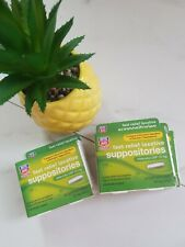 2 Rite Aid Fast Relief Laxative Suppositories, 32ct  Suppositories, Exp 06/2019