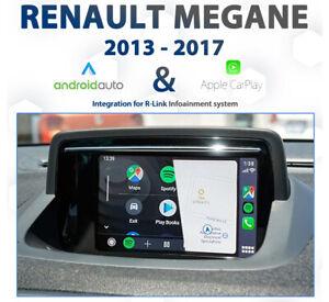 Renault Megane R-Link I - 2013 to 2017 Android Auto & Apple CarPlay Integration