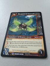 1x Warglaive of Azzinoth Betrayal the Guardian Epic 190 World Warcraft WoW Tcg