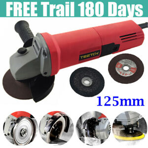 125mm Electric Angle Grinder Sander Wood Metal Cutting Grinding Fast Shipping