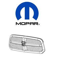 For Dodge RAM 1500 Chrome Grille w/ Rams Head Emblem Mopar 68093930AC