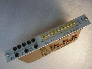 USSR Diagnostic equipment Control panel PCB palladium-plated contacts 1979