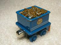2009 THOMAS & FRIENDS TAKE N PLAY FERDINAND'S TENDER BLUE TOY TRAIN CAR - NICE