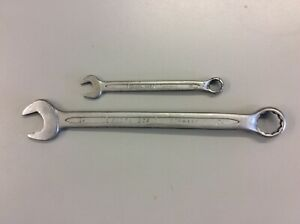 2- ELORA 205 COMBINATION SPANNERS  24mm & 13mm  GERMANY