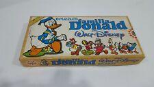 Puzzle educa años 80 de madera Familia Donald Walt disney NUEVO a estrenar