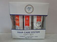 CARSON LIFE HAIR CARE SYSTEM GIFT SET = SHAMPOO & CONDITIONER & MASK MM 16580