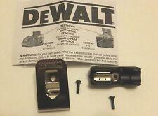 DeWALT Belt Hook & Bit Clip Holder Combo 20v Max  DCD780 DCD785 N268199 N268241