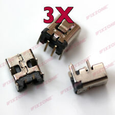 3 X New AC DC In Power Jack Plug Charging Port For Nintendo 2DS / 2DS XL USA