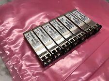 Lot of 7 Avago AFBR-57D7APZ-E2 019-078-042 8GB SFP+Shortwave 850nm Transceiver
