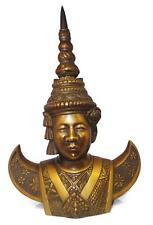Buste en bronze divinité Asiatique