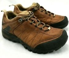 Teva Mens US 7 Brown e-vent Leather Hiking Shoes Trail Waterproof Fishing Rugged