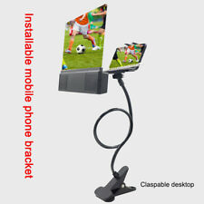 """Mobile Phone Screen Magnifier Projection Bracket HD 12"""" Amplifier with Speaker"""