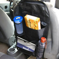 1PCS Car Back Seat Multi Pocket Travel Holder Organizer Storage Tidy Bag!!