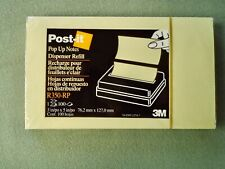 Lot 11 Pop Up Post It Note Pads 100 Sheets Sealed 3 X 5 3m R350 Rp Canary Yellow