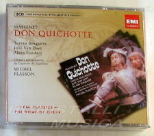 DON QUICHOTTE - BERGANZA, VAN DAM, FONDARY - PLASSON - 2 CD Sigillato