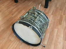 "1965 Ludwig Black Oyster Pearl 20"" Bass Drum"