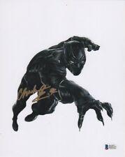Chadwick Boseman Avengers Autographed Signed 8x10 Photo BAS Beckett COA