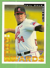 1995 AUSTRALIAN BASEBALL CARD #86  PHIL  DALE, PITCHER OF THE YEAR