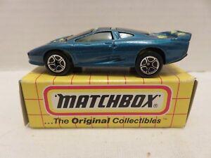 1993 Matchbox Original Collectibles MB31 Jaguar XJ220 Green Die-Cast Model 1:64