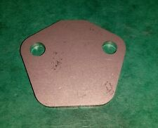 Fuel Pump Blank Blanking Plate FIAT Uno Panda 750 1000 cc Engine STAINLESS STEEL