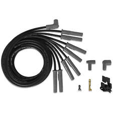 MSD 31183 BLACK Super Conductor 8 Cy HEI Universal Wire Set 8.5 Spark Plug Wires