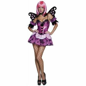 Smiffys 33749 Sexy Fairy Pixie Costume Adult Halloween Fancy Dress Last Medium