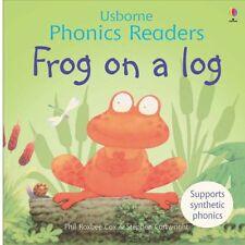 Frog on a Log (Phonics Readers) (Usborne Phonics Readers),Phil Roxbee Cox, Step