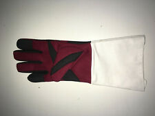 Foil Epee Sabre Synthetic Washable Fencing Glove w. reinforced fingers