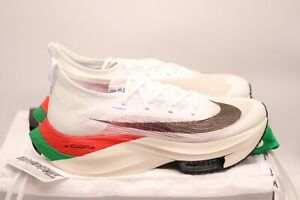 Nike Air Zoom Alphafly NEXT% | White | Size UK10 US11 EU345 | Eliud Kipchonge