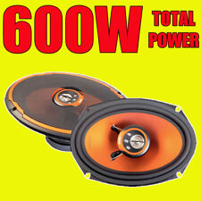 "Edge Audio ED209-E2 4-way 600w Total Power 6x9"" 6x9 Inch Car Van Boat Speakers"