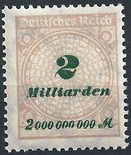 Korbdeckel MiNr. 326AP mit markantem Plattenfehler von Feld 36 postfrisch