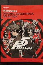 JAPAN Piano Solo Score Book: Persona 5 Original Soundtrack Selection