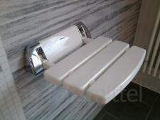 Sitz für Dusche Duschsitz Duschklappsitz weiss/chrom TÜV/GS