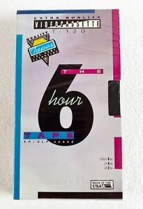 Extra Quality T-120 6 Hour Video Cassette Tape Made In USA